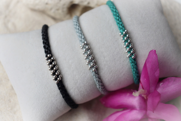 Glamour - Bracelet Macramé