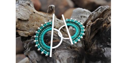 Jabali - Silver - Verde Azulado