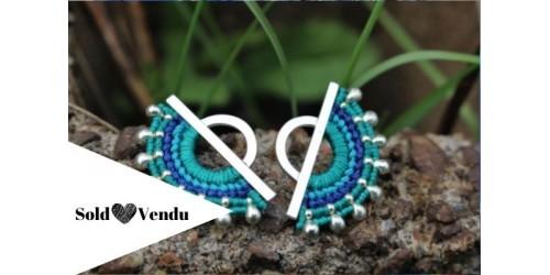 Linda - Silver - Bleu